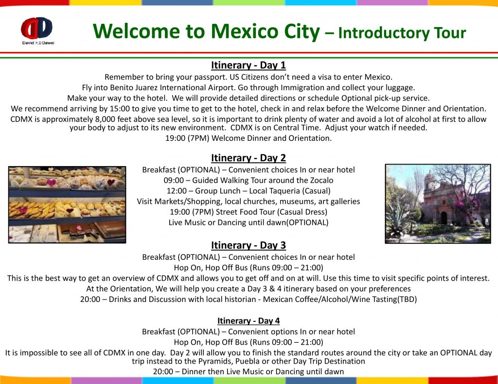Welcome to Mexico City – Introductory Tour - Page 2